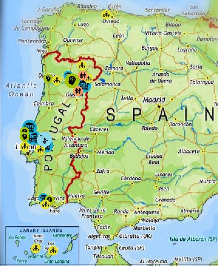 mapa de portugal e espanha juntos Prevenir | Delegação Espanhola da Associação Prevenir mapa de portugal e espanha juntos